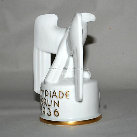 olympiade berlin 1936 f rstenberg porzellan adler auf. Black Bedroom Furniture Sets. Home Design Ideas
